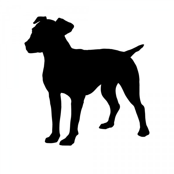 Jack Russell Terrier - Hot and Cool - AUTOAUFKLEBER