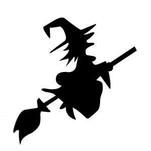Fliegende Hexe