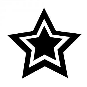 Aufkleber - Stern Typ II