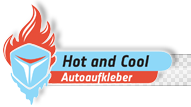 Hot and Cool - AUTOAUFKLEBER